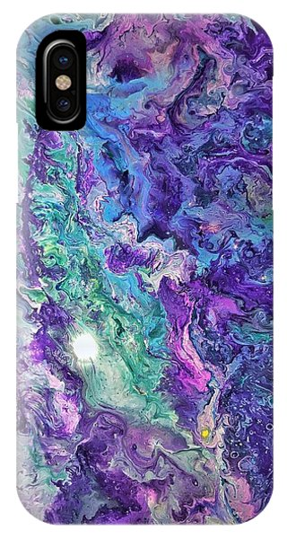 IPhone Case featuring the painting Detail Of Waves by Robbie Masso