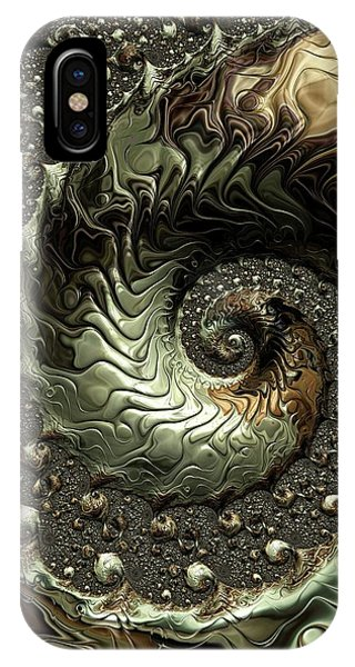 iPhone Case - Detailed In Gold by Amanda Moore