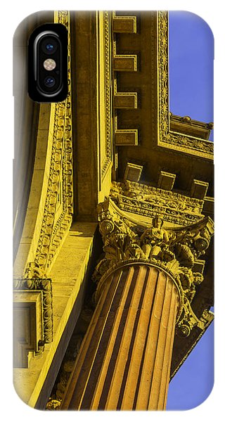 Details Palace Of Fine Arts IPhone Case