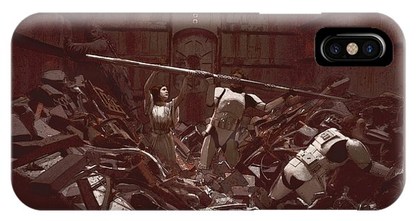Garbage Compactor 3263827 IPhone Case