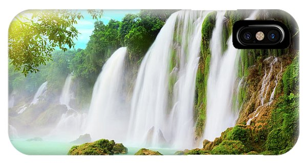 Detian Waterfall IPhone Case