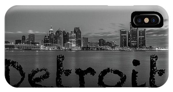 Detroit City  IPhone Case