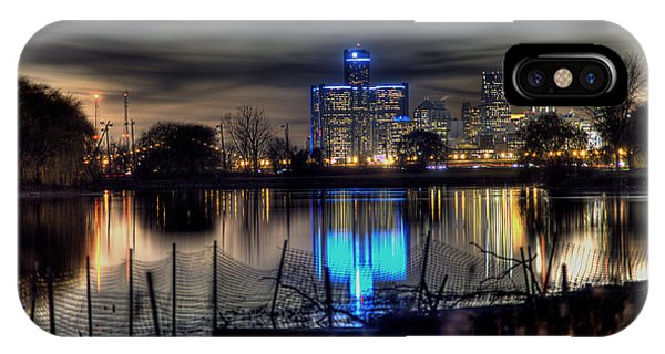 Detroit Reflections IPhone Case