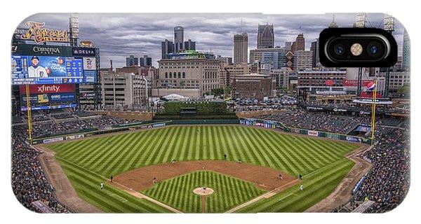 Detroit Tigers Comerica Park 4837 IPhone Case