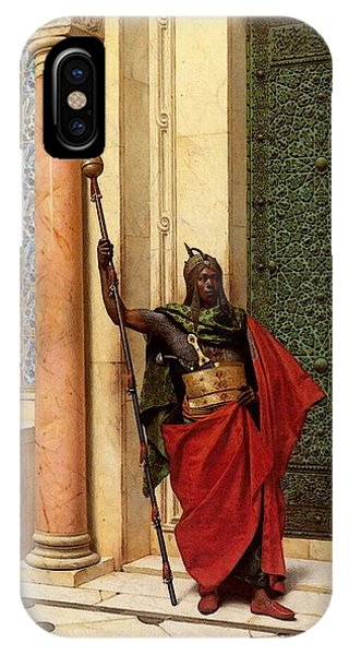 Deutsch Ludwig A Nubian Guard IPhone Case