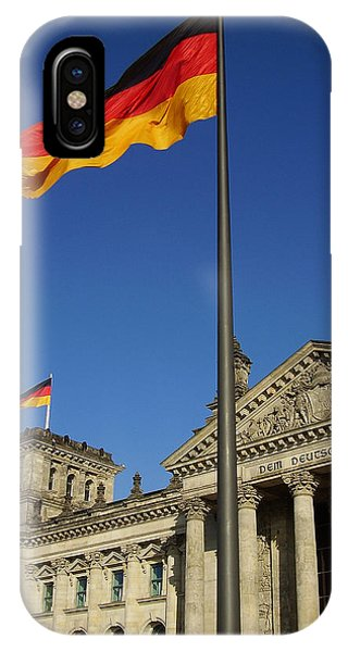 Deutscher Bundestag IPhone Case