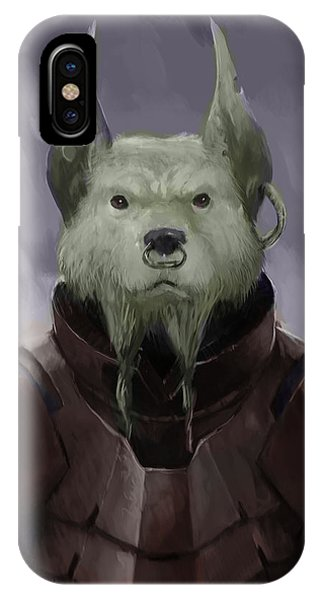Science Fiction iPhone Case - Devil Dog by Marcus Lewis