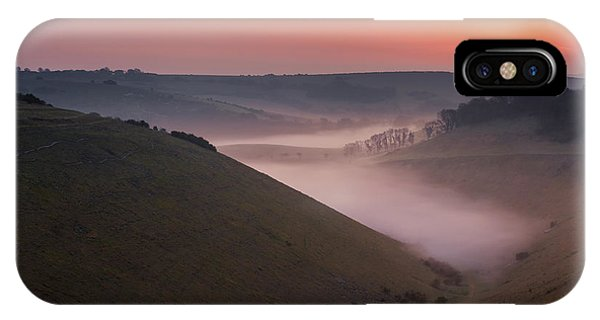Devils Dyke IPhone Case
