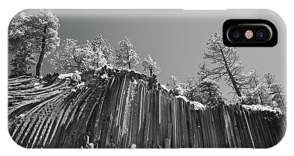 Devil's Postpile - Frozen Columns Of Lava IPhone Case