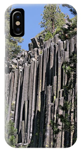 Devils Postpile National Monument - Mammoth Lakes - East California IPhone Case