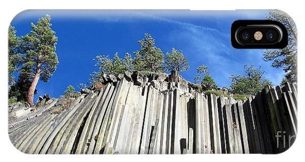 Devils Postpile National Monument IPhone Case