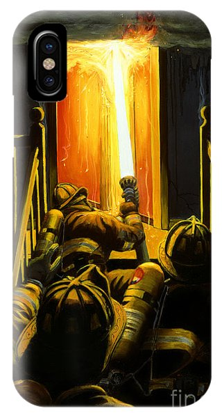 Fire iPhone Case - Devil's Stairway by Paul Walsh