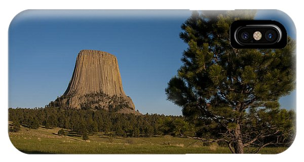 IPhone Case featuring the photograph Devil's Tower by Gary Lengyel