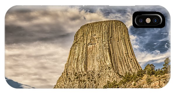 Devils Tower Inspiration 2 IPhone Case