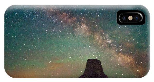 Devils Tower Lights IPhone Case