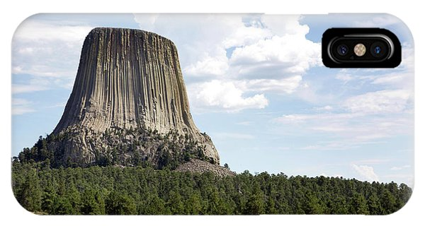 Devils Tower National Monument IPhone Case