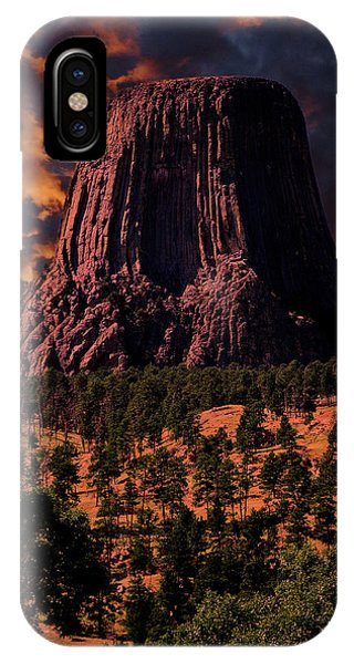 IPhone Case featuring the photograph Devils Tower Sunrise by Scott Read