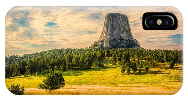 Devil's Tower - The Other Side IPhone Case