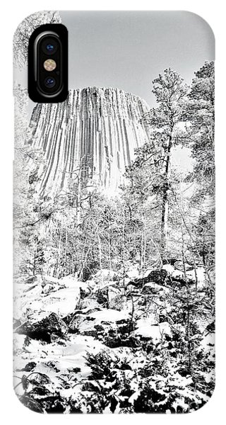 Devils Tower Wyoming IPhone Case