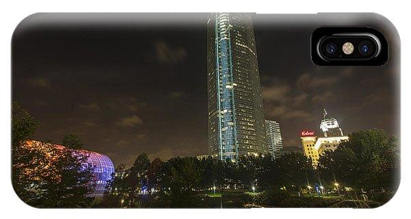 Devon Tower Okc IPhone Case