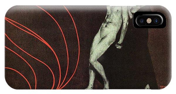 Advertising iPhone Case - Deutsche-kunst Und Dekoration - German Art - Retro Travel Poster - Vintage Poster by Studio Grafiikka