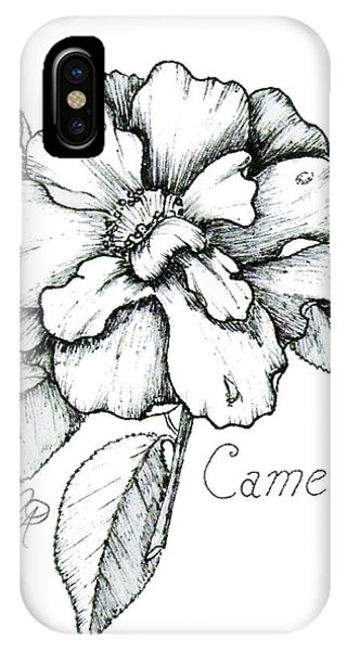 Dew Kissed Camellia IPhone Case