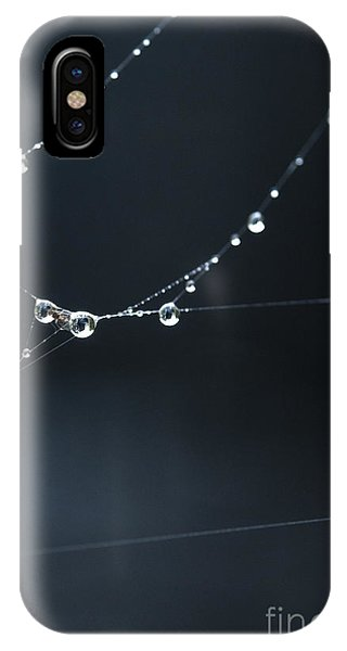 Dew On Cobweb 001 IPhone Case