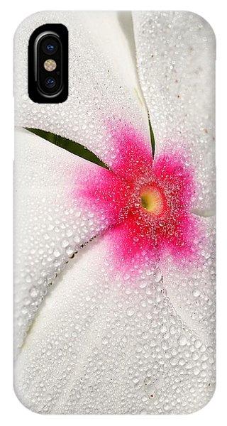 Dew-sprinkled Periwinkle IPhone Case