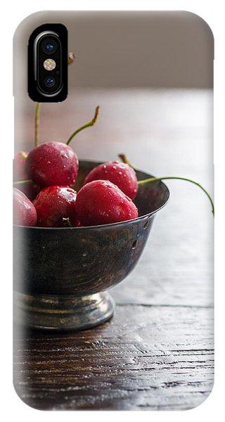 Dewy Cherries IPhone Case