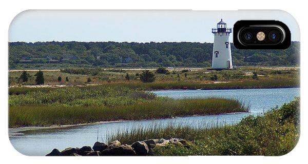 Edgartown Harbor Lighthouse IPhone Case