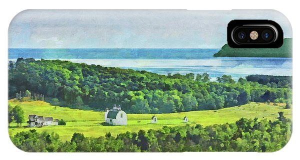 D. H. Day Farmstead At Sleeping Bear Dunes National Lakeshore IPhone Case
