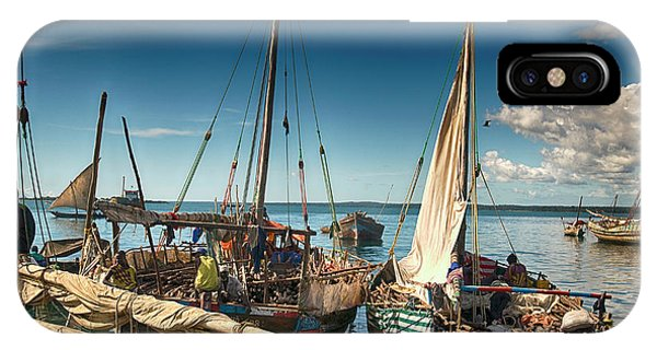 Dhow Sailing Boat IPhone Case