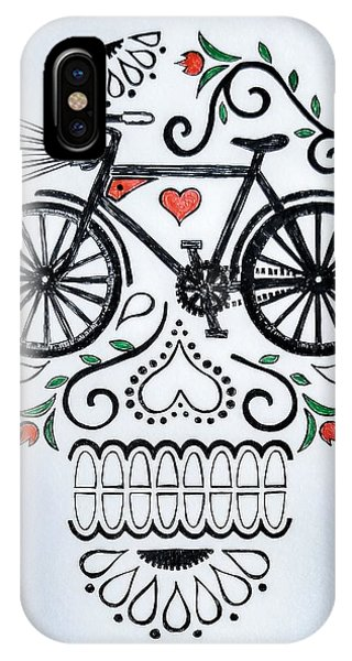 Bike iPhone Case - Muertocicleta by John Parish