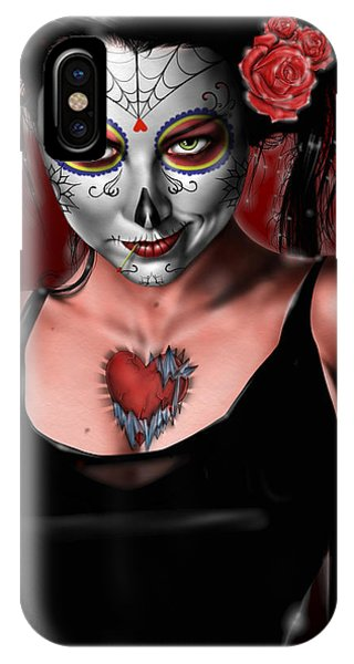 Dia De Los Muertos The Vapors IPhone Case
