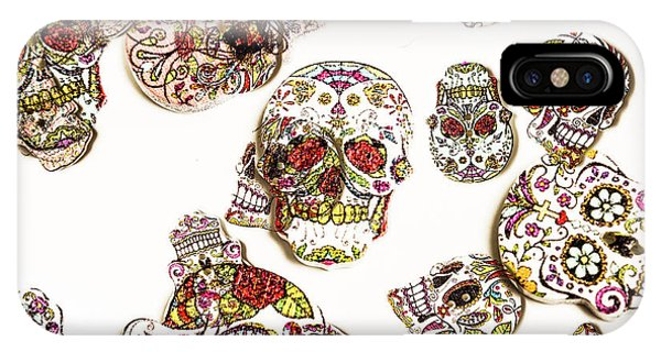 Funky iPhone Case - Dia De Muertos by Jorgo Photography - Wall Art Gallery