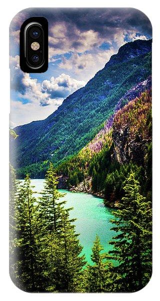 Diablo Lake IPhone Case