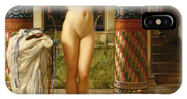 Columns iPhone Case - Diadumene by Sir Edward John Poynter