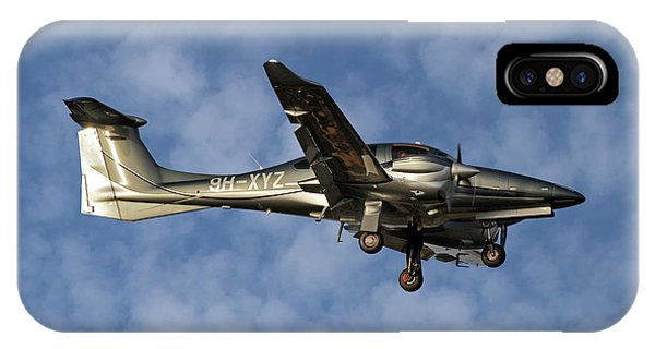 Diamond iPhone Case - Diamond Aircraft Diamond Da-62 1 by Smart Aviation