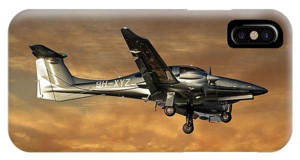 Diamond iPhone Case - Diamond Aircraft Diamond Da-62 2 by Smart Aviation