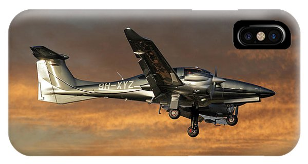 Diamond iPhone Case - Diamond Aircraft Diamond Da-62 3 by Smart Aviation