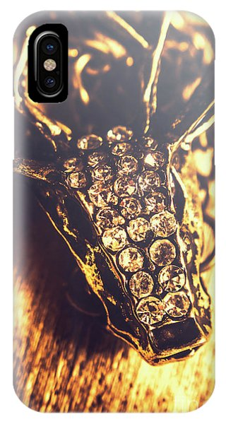 Diamond iPhone Case - Diamond Encrusted Wildlife Bracelet by Jorgo Photography - Wall Art Gallery