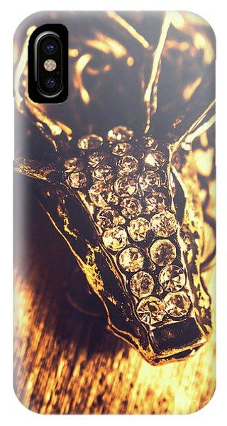 Stag iPhone Case - Diamond Encrusted Wildlife Bracelet by Jorgo Photography - Wall Art Gallery