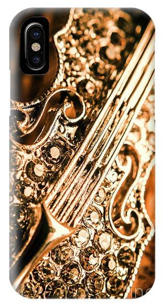 Violin iPhone Case - Diamond Ensemble by Jorgo Photography - Wall Art Gallery