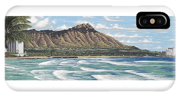 Hawaiian Sunset iPhone Case - Diamond Head by Andrew Palmer