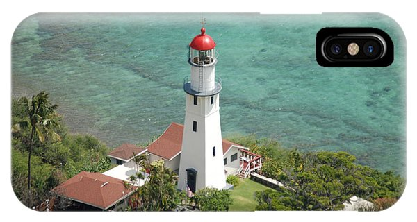 Diamond Head Lighthouse 2 IPhone Case