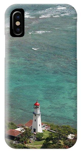 Diamond Head Lighthouse 3 IPhone Case