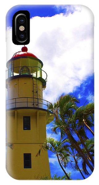 Diamond Head Lighthouse IPhone Case