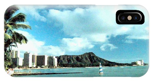 Diamond Head IPhone Case