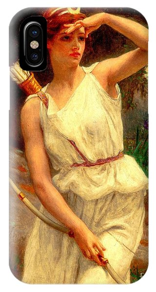 Diana The Huntress Guillaume Seignac  IPhone Case