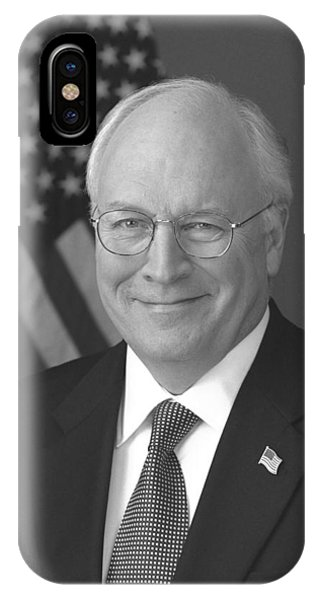 Dick Cheney iPhone Case - Dick Cheney by War Is Hell Store